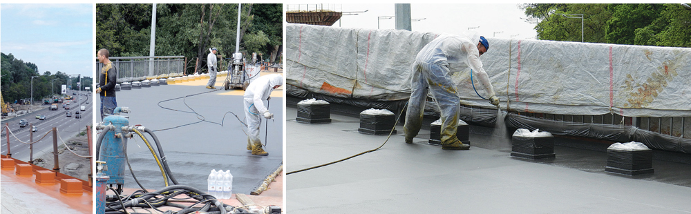 Waterproofing of roadbed